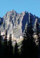 Juno Tower - Vasliki Ridge  - Washington Pass, Washington, USA. Click to Enlarge
