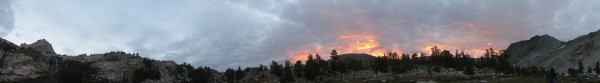 Sunrise Pano