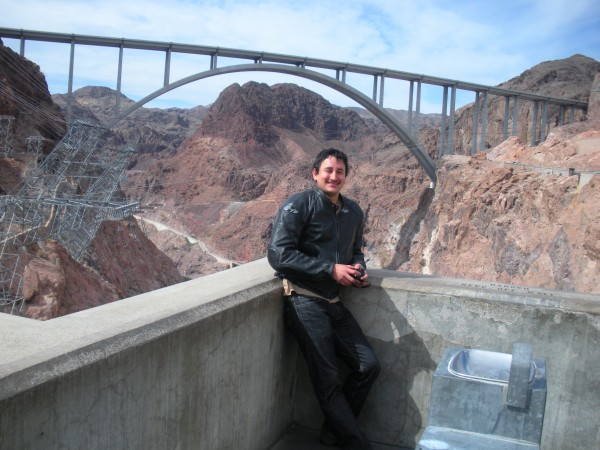 Pat Tillman Bridge from Hoover Dam