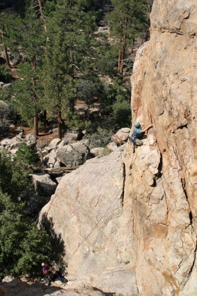 Pistol Pete - Holcomb Valley Pinnacles