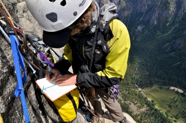 Mapping El Cap! Credit:Chris Gibisch