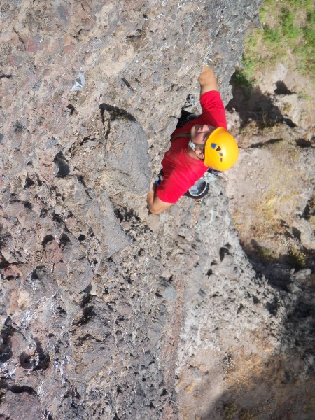"Ben Priestly on ""Brother Mike"" second free ascent 9/9/12"