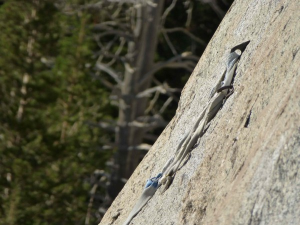 Anchor of Playing With A Full Deck, Medlicott Dome, Tuolumne - 9/7/12.
