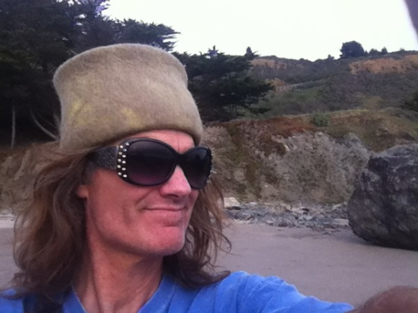 Mickeys Beach, Summer 2012  Hat by Heidi Paul Designs, Stinson Beach, ...
