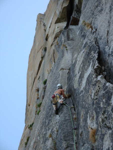 Another Really Fun 5.10 Pitch on the Salathe