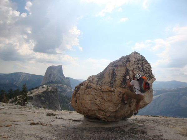 "Tim's Got Energy to Spare after Topping out on ""Half a Half Dome"", aka..."