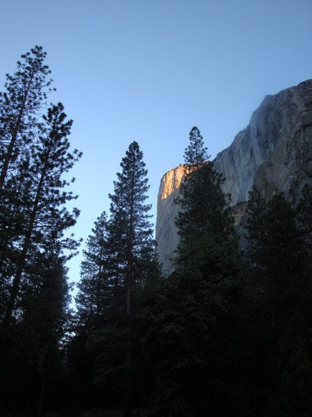 Sunrise on El Cap