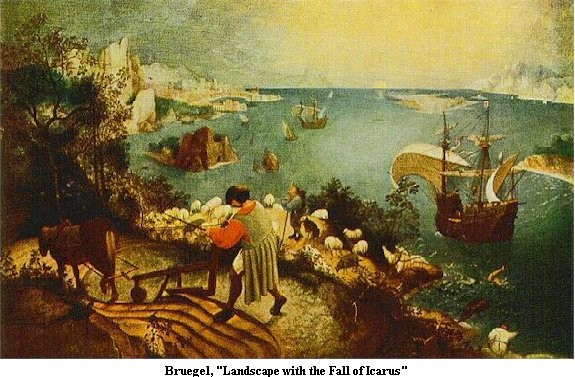 Landscape With The Fall of Icarus by Peter Breughel