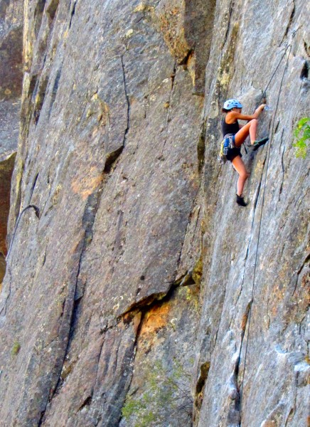 mak, t.r onsighting &quot;mak daddy&quot; 5.11a lower cathedral rock  <br/>