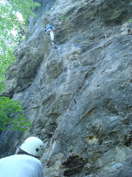 Boneless Chicken Ranch wall at Indian Bluffs State Wildlife Management...