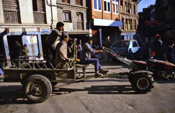 Tractor Nepal Style