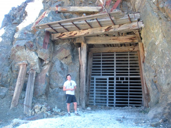 Mine in Death Valley
