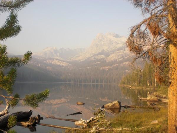 Hell Roaring lake!