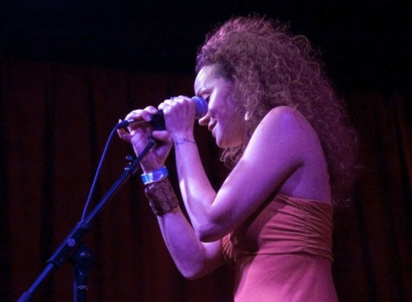 Singing at Club Congress, Tucson AZ <br/>