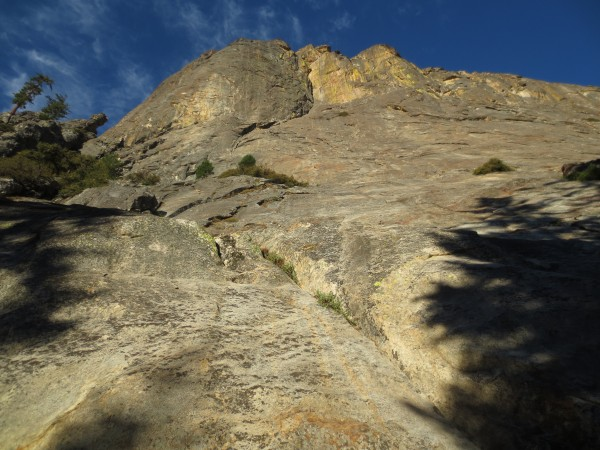 our climb