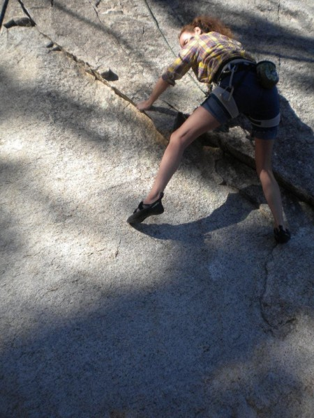 Climbing at The Palisades <br/>