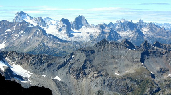 Bugaboos and Vowells, BC.