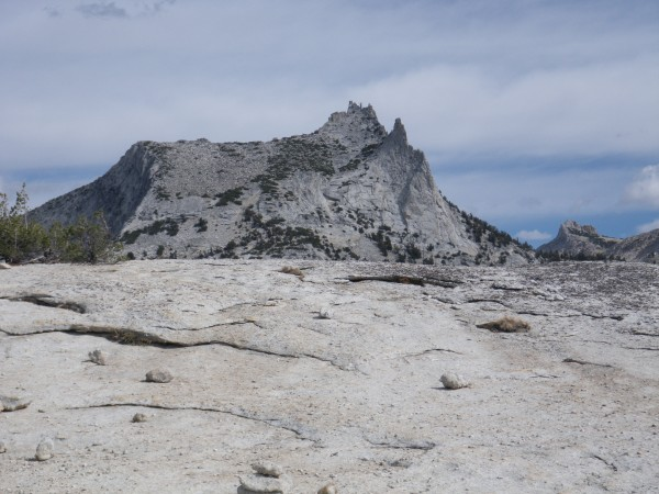 Cathedral Peak, Eichorn Pinnacle, and the Cockscomb from Medlicott Dom...
