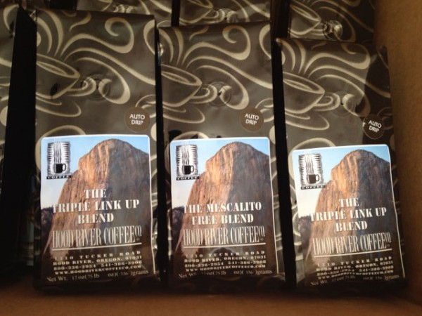 Just in from Hood River Coffee