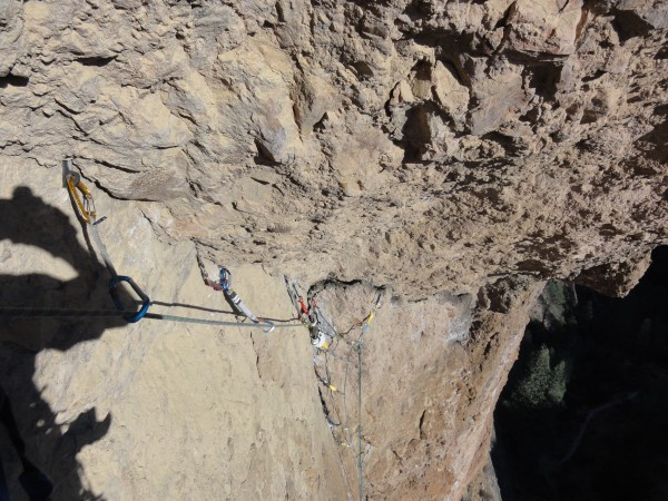 evil traverse on Premeditated - Pinnacles