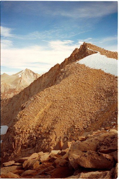 Mount Hooper Summit from west <br/>