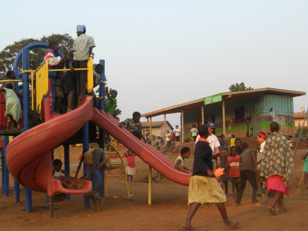 The SAFE Haven Playground and Classroom in Zomba, Malawi.
