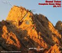 Complete Exum Ridge of the Grand Teton (III, 5.7) - Click for details
