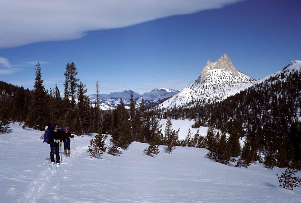 Sierra Wave, during a 10-day ski winter ski traverse of the High Sierr...