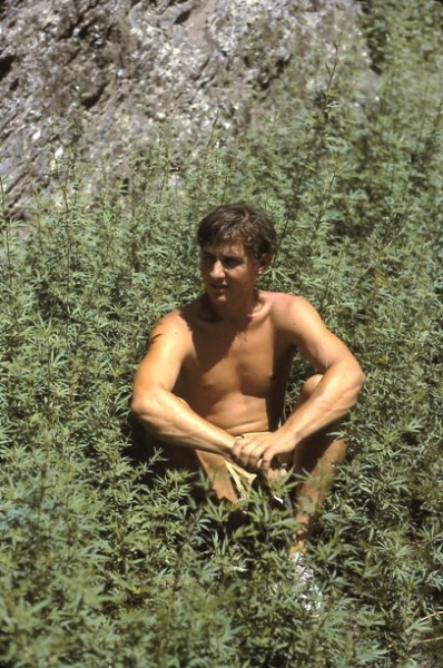 Dennis in Afghanistan, 1974