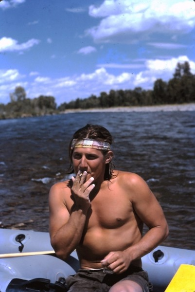 Meanwhile, back on the Snake River, just after the mudbath...1972