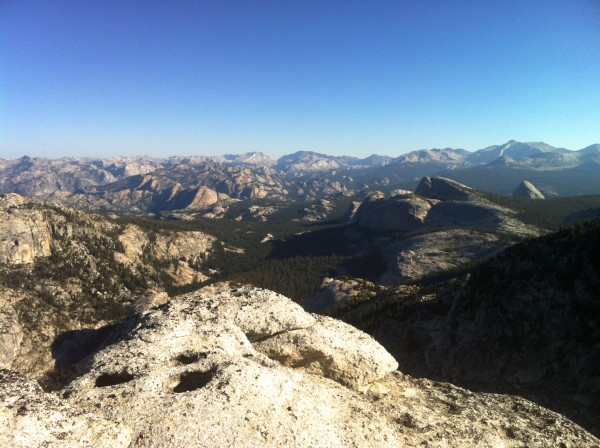 View from the summit of Tenaya
