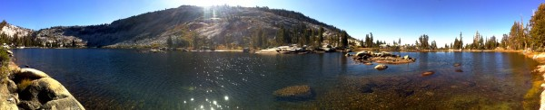 nice little lake behind Tenaya peak