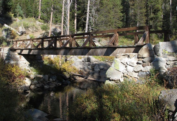 Pohono Trail Bridge over Bridalveil Creek