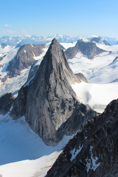 Welcome to the bugaboos: granite and glaciers