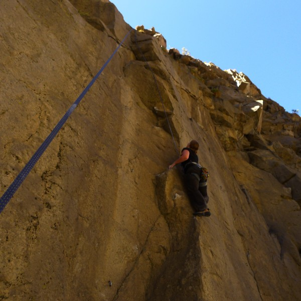 Amy Wilkins on, Ace Cashier.5.10a, fun climb needs more stars then jus...