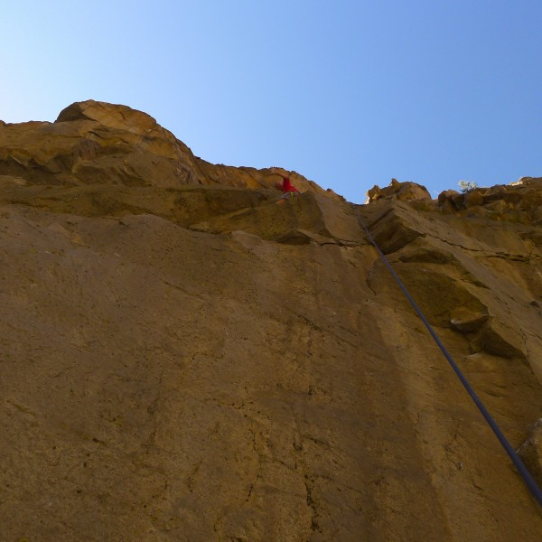 Mike Arechiga on, Meringueutan Arch.5.11a. super slab move passed the ...