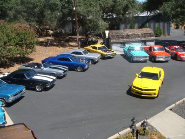 A friends stable.  Folks around Sacramento may see any one of these be...