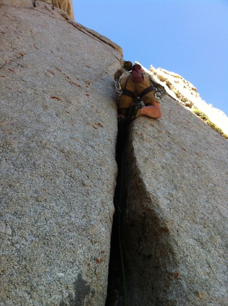 "FA of ""The Vice"" 5.10a Chipmunk Flat SPH"
