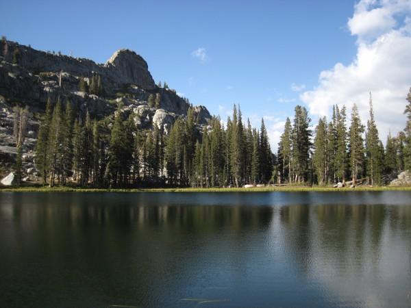 Lower Geraldine Lake (~8700')