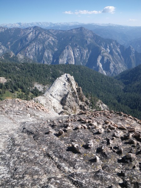 Looking east from near summit