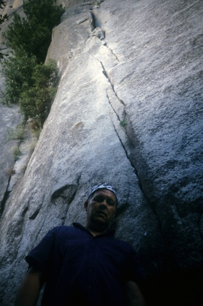 Pat Ament, below the Slack Center, 1997, a return visit some thirty ye...