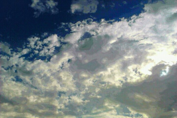 The clouds are getting prettier by the minute <br/>