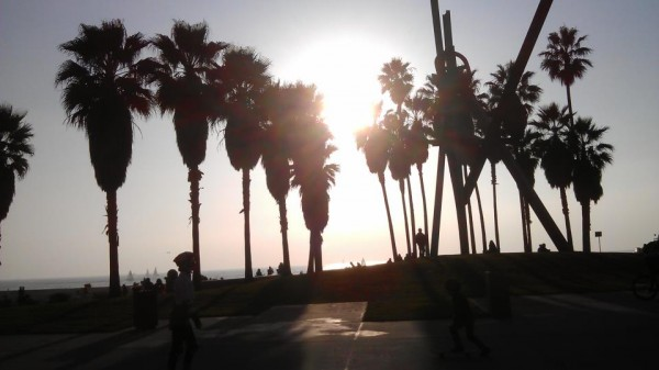 Sunset in Venice with Jesse