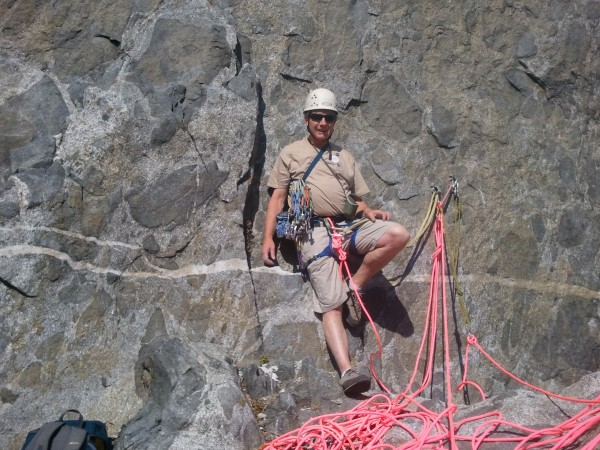 Now tell me Mighty Hiker doesn't love that rope!!!