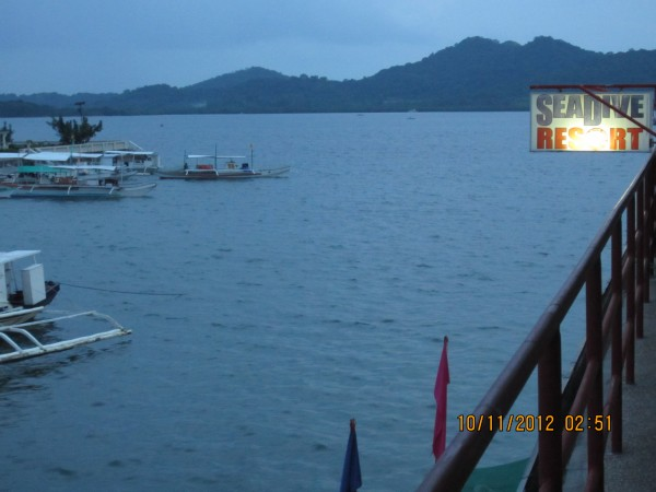 SeaDive Resort in Coron, Palawan, Philippines