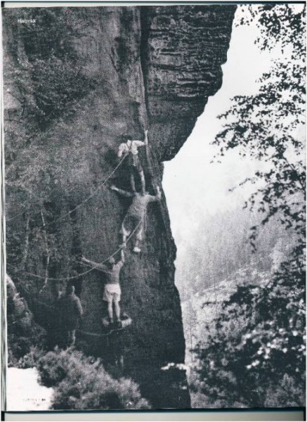 Rudolf Stolle - Kesselturmerweg - Höllenhund Westkante - Rathen