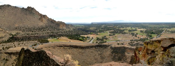 Panorama from top of Red Wall