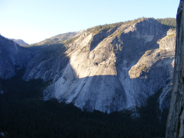 Glacier Point Apron from Pitch 6