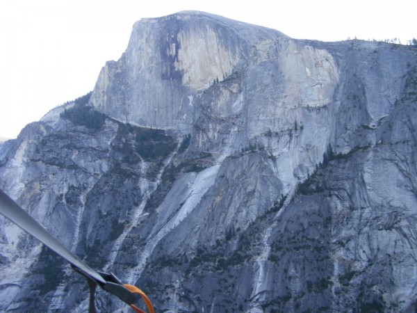 Half Dome from pitch 6.