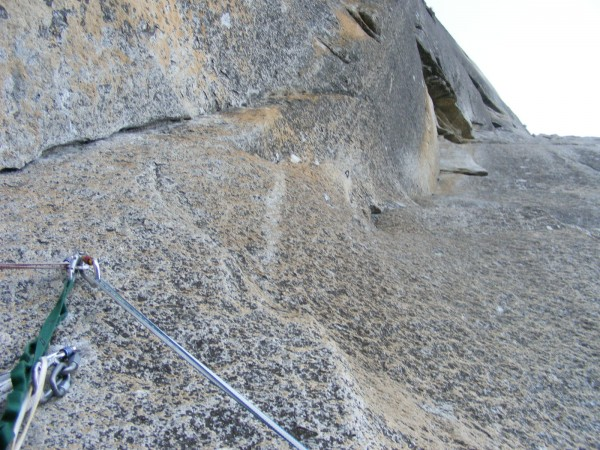 Start of pitch 7, the Strange Dihedral